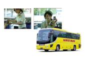 [日本国内メディア]はとバス車内 サンプリングプロモーション